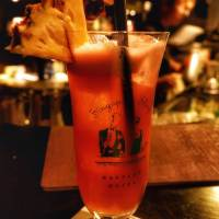 [Singapore] Long bar with a long history of The Singapore Sling